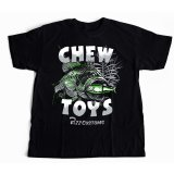 【Pizz Customs】 CHEW TOYS T-Shirt Black